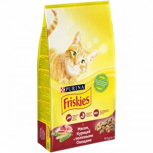 FRISKIES ADULT Кош МясоОвощ 10кг