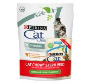 CAT CHOW STERILISED Meat 10(400г+85г)PRRU