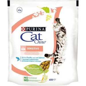 CAT CHOW SENSITIVE Meat 8x400g RU