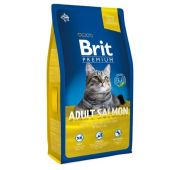 Brit Premium Cat Adult Salmon д/взросл.с лососем/соус 800гр
